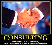 Consultoria nas empresas... Parte do problema?