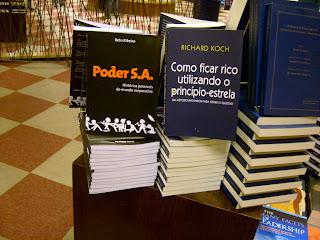 Poder S.A. na Livraria da Cultura da Av Paulista!