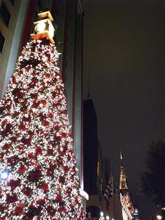 O Natal na Avenida Paulista, em São Paulo, está tudo-de-bom. As empresas fizeram o trabalho direitinho!