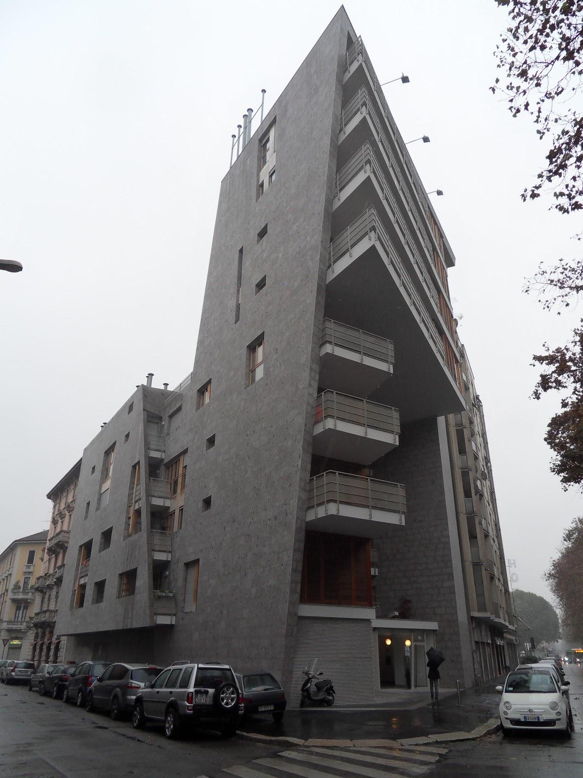 Appunti di architettura milano che cambia edificio for Architettura case