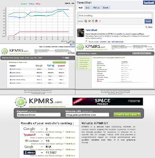 KPMRS lets you monitor your websites rankings on Search Engines