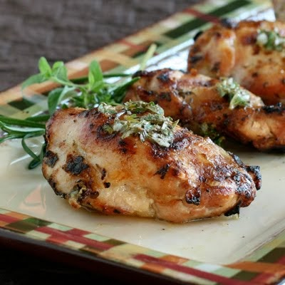 Have Recipes-Will Cook: Grilled Herb Chicken with Vinaigrette