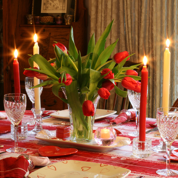 Have Recipes-Will Cook: Lynn\'s Valentine Table Setting