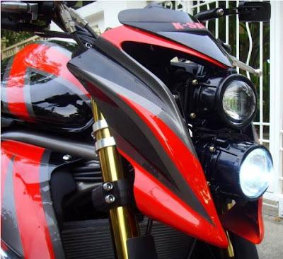 Kawasaki Er6N Custom