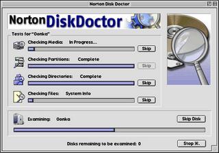 Norton Disk Doctor 2007 Portable