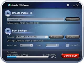 4Media ISO Burner 1.0.56.0112