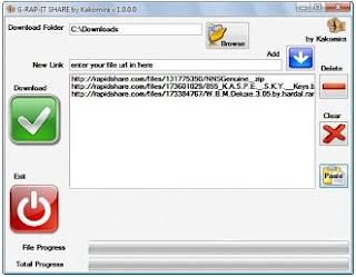 G RAP IT SHARE   Rapid Downloader 2009