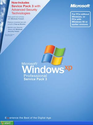 Download Microsoft Windows XP Professional SP3 Dezembro 2010