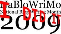NaBloWriMo - National Blog Writing Month