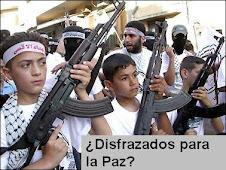 Así es como los palestinos educan a sus hijos ¿Disfrazados para la paz?