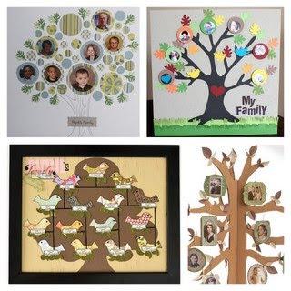 paper scrap family tree 2 family tree with fiskarFamily Tree Ideas For Kids Project