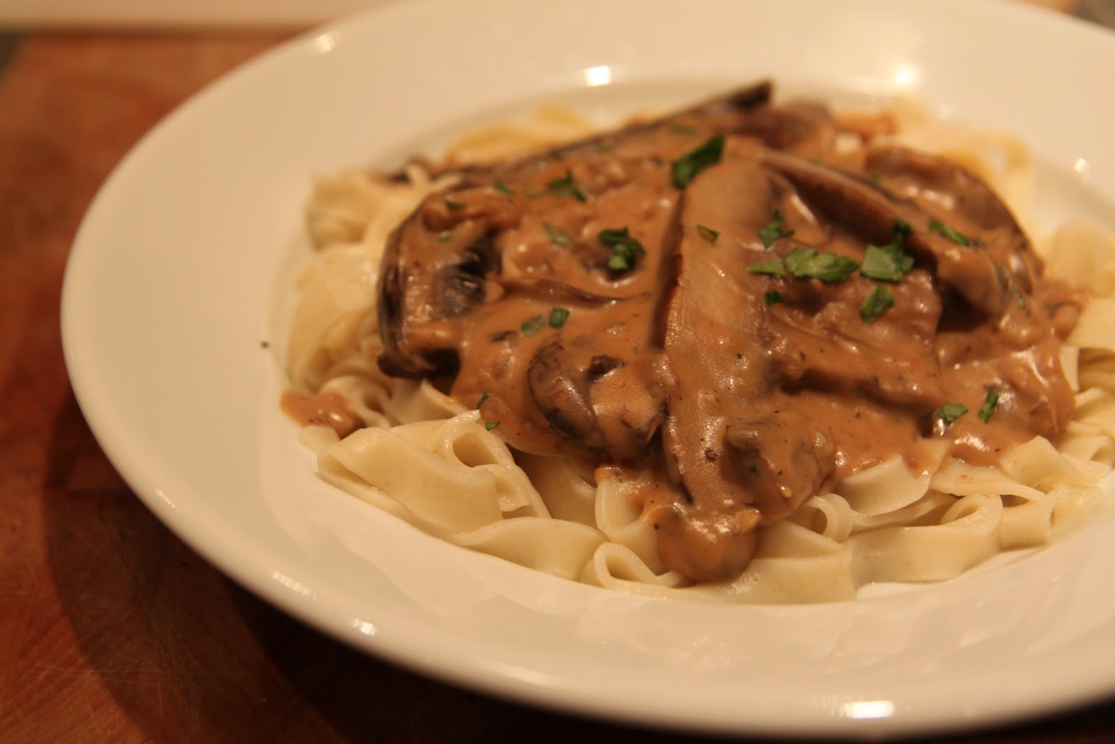 Portobello Mushroom Stroganoff Recipes — Dishmaps
