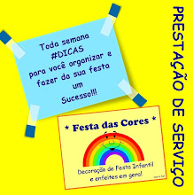 Agora o Festa das Cores tem dicas pra voc!