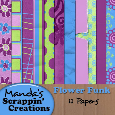 http://mandasscrappincreations.blogspot.com/2009/10/flower-funk-full-kit-freebie.html