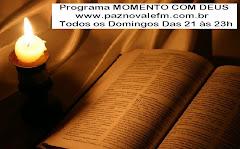 Programa MOMENTO COM DEUS