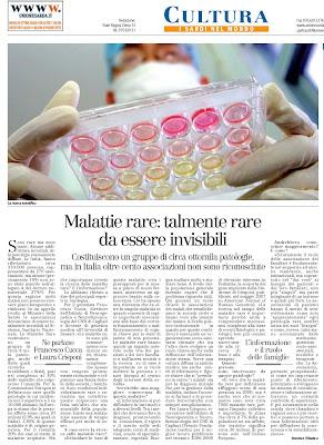 malattie rare unione sarda mameli 2010