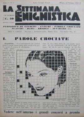 La Settimana Enigmistica 1932