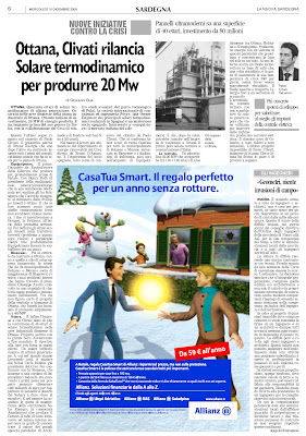 crs4 la nuova sardegna 16 dicembre 2009