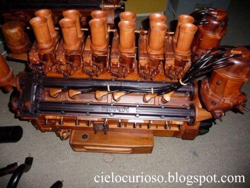 Un poco de ferrari... Motor-ferrari-madera-1