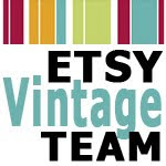 Member of the Etsy Vintage Team