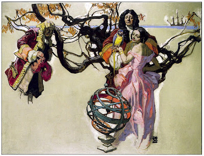 18th CENTURY VINNIE. -. Painting by Dean Cornwell