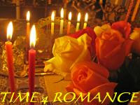 Romance  Flowers  Candles