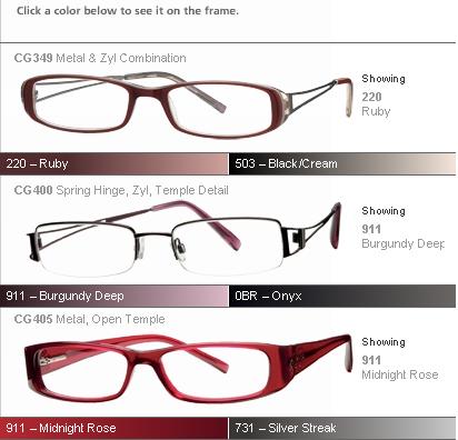 Eyeglass Frame Picker : eye glasses styles