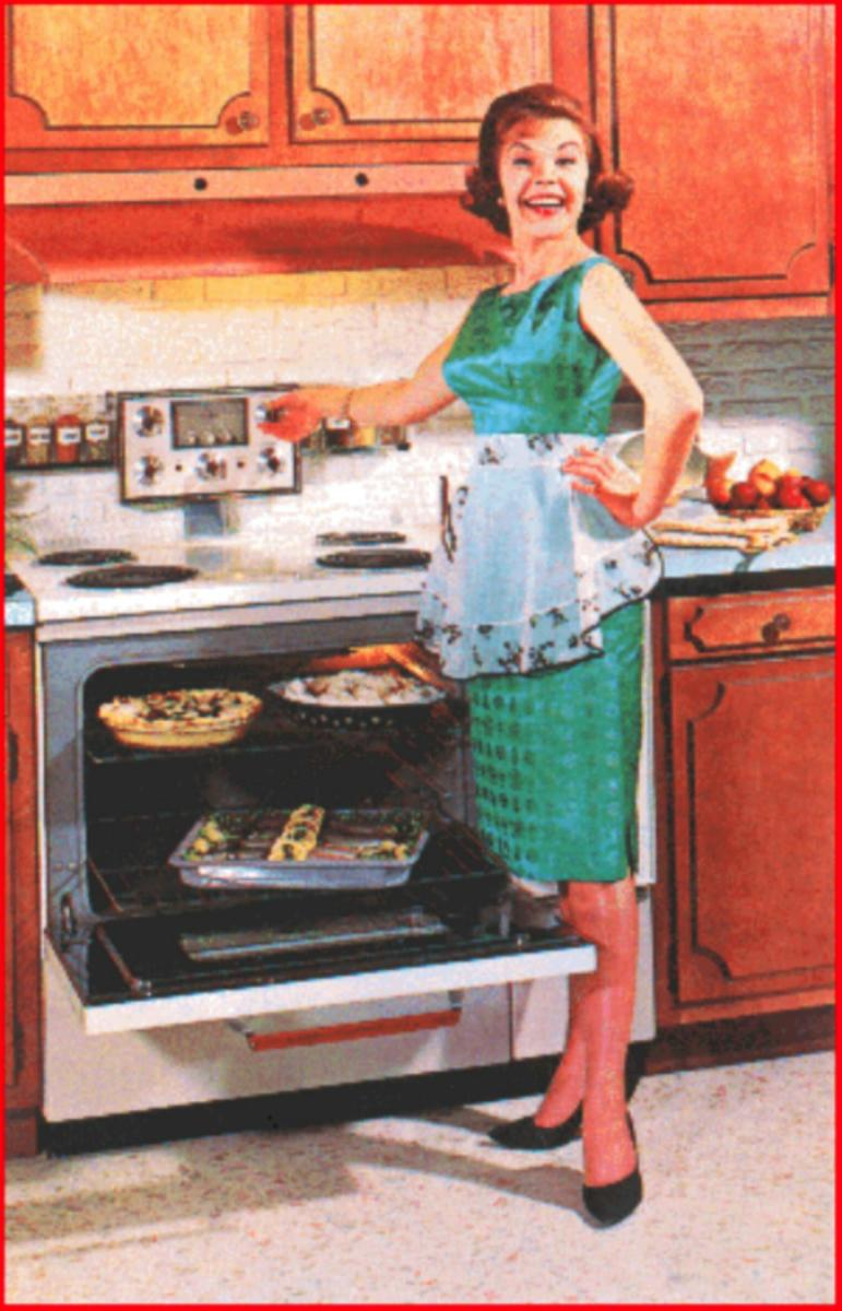 50s housewife naked think