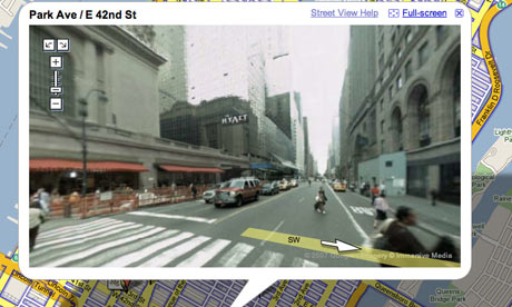 Google Street View - the end of privacy ?