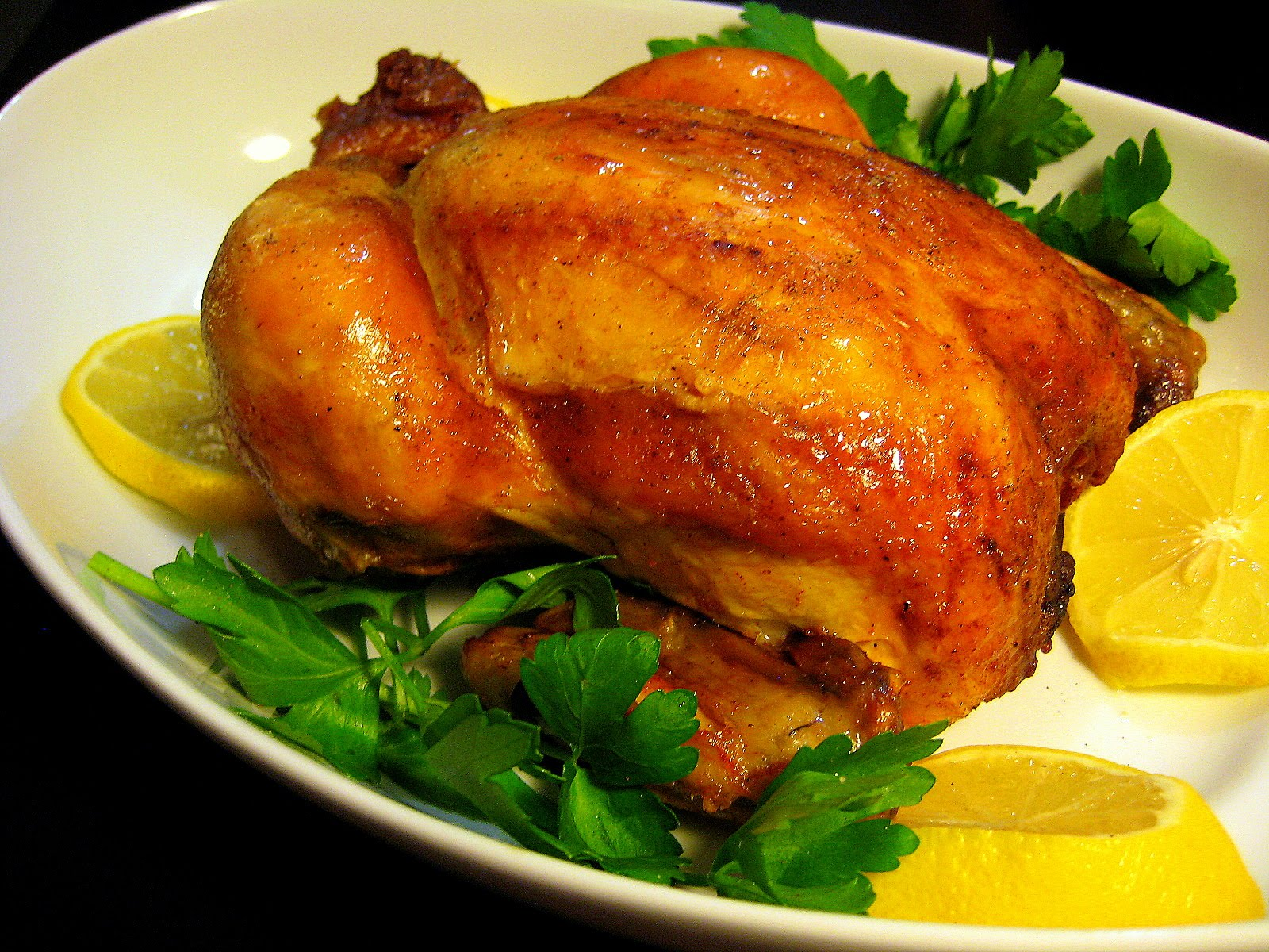 Food Tastes Yummy: HERB ROASTED CHICKEN