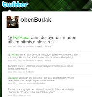 Screencap of Oben Budak's tweets