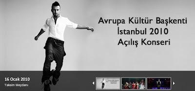 HITT's new banner for the Taksim show on 16 January 2010