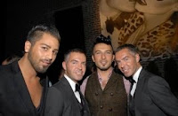Tarkan at Dsquared2 Party