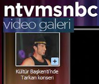 Tarkan's Taksim show makes the headlines at NTVMSNBC