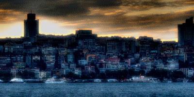 Taksim by sunset by afganaf Kr @ TrekEarth