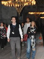 Mendes sightseeing in Istanbul last week