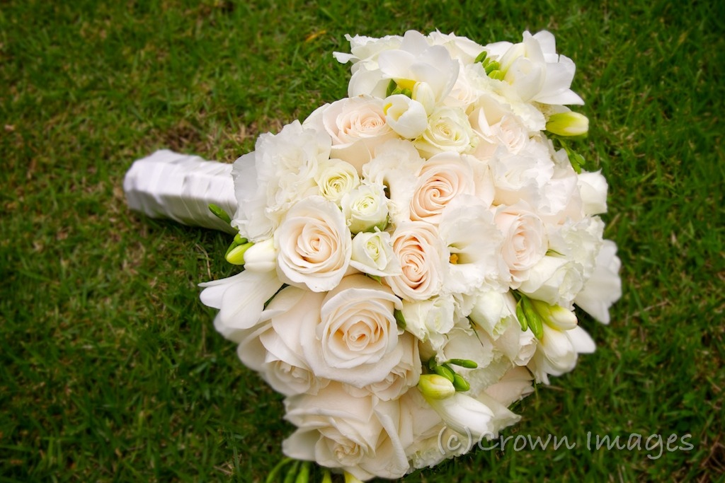 Crown Images photography by Sage Beach Wedding Bouquets Boutonnieres