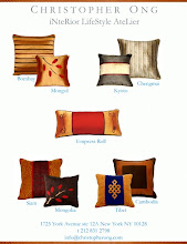 Christopher Ong's Decorative Pillow Collection