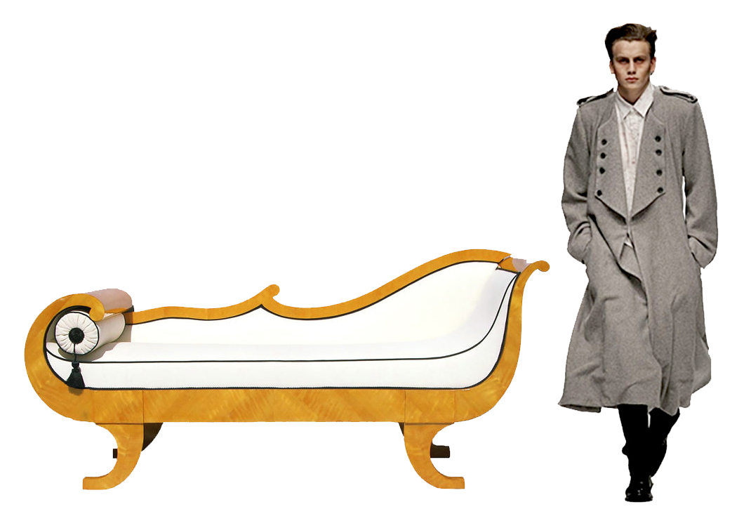Christopher ong my footsteps my dreams beautiful for Biedermeier chaise