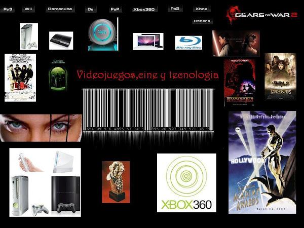 Videojuegos, cine y tecnologia