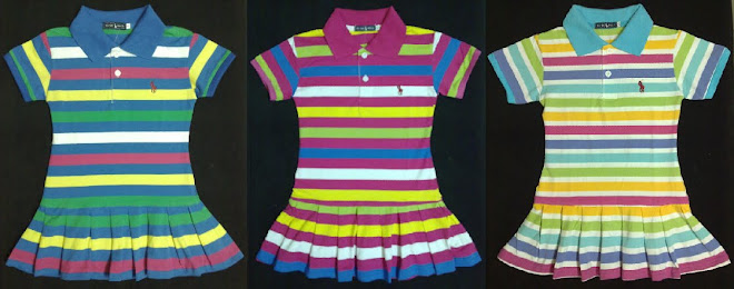 POLO STRIPE DRESS
