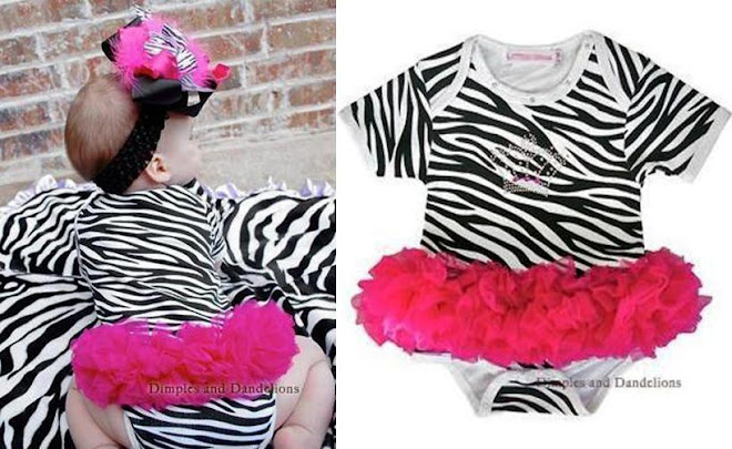 magic cube zebra romper
