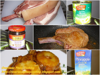 Pineapple Glazed Pork Chop with Ginger Sauce - Galerry