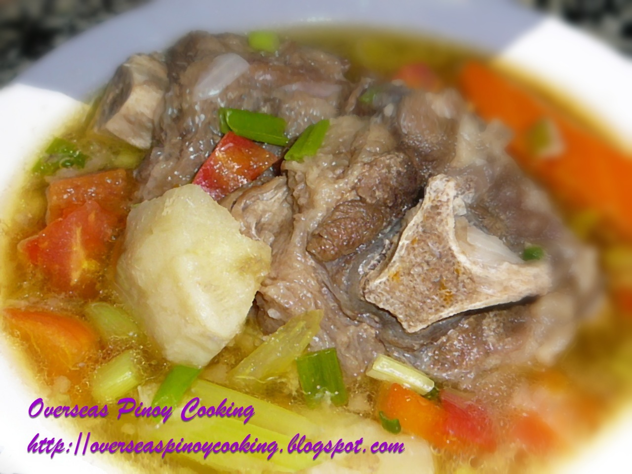 Sop Buntut, Sup Buntut, Indonesian Oxtail Soup