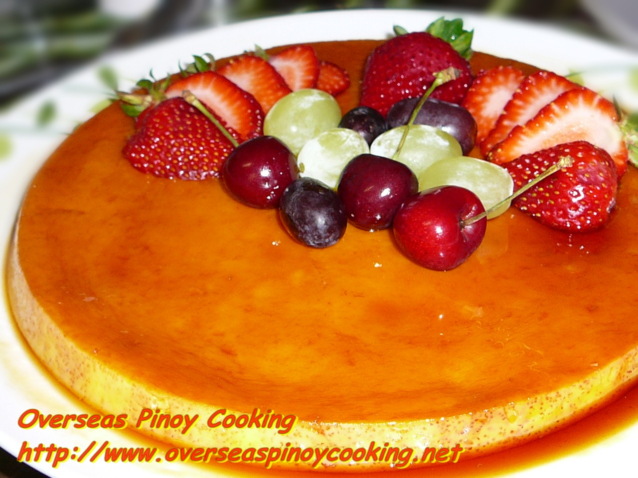 orange flan spanish flan flan with lavender flan super easy baked flan ...