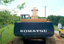 Komatsu excavator