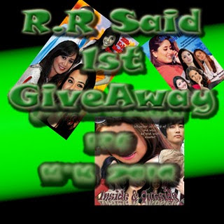 R.R. Said:1st Giveaway