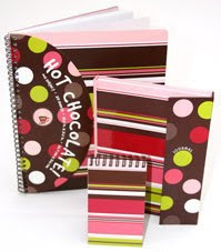 whimsical school supplies, colorful folders