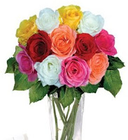 short-stemmed mixed roses,USA Flowers online