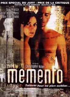 Memento dirigida por Christopher Nolan